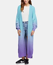 a862d9a6e06 Free People Come Together Ombré Open Maxi Cardigan