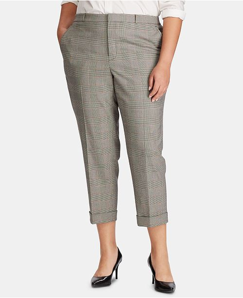 Lauren Ralph Lauren Plus Size Skinny Pants & Reviews ...