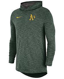 Nike Men's Oakland Athletics Dry Slub Hooded T-Shirt