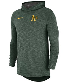 Nike Men's Oakland Athletics Dry Slub Hooded T-Shirt