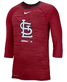 Nike Men's St. Louis Cardinals Velocity Raglan T-Shirt