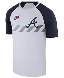 Nike Men's Atlanta Braves Walkoff Raglan T-Shirt