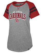 47 Brand Women s St. Louis Cardinals Flyout T-Shirt e2bbf46798