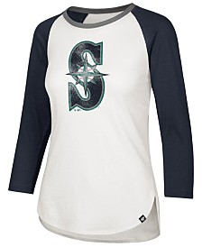 '47 Brand Women's Seattle Mariners Splitter Raglan T-Shirt