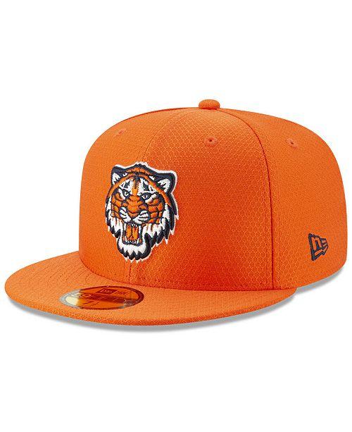 best service 830fd d1c15 New Era Boys  Detroit Tigers Batting Practice 59FIFTY Cap - Sports Fan Shop  By Lids - Men - Macy s