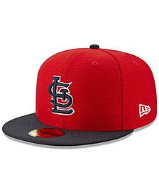 New Era Boys' St. Louis Cardinals Batting Practice 59FIFTY Cap