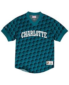 Men's Charlotte Hornets Kicking It Wordmark Mesh T-Shirt