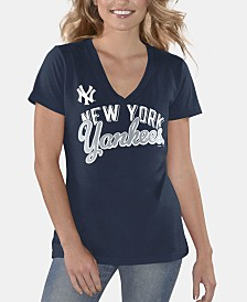 G-III Sports Women's New York Yankees Finals T-Shirt
