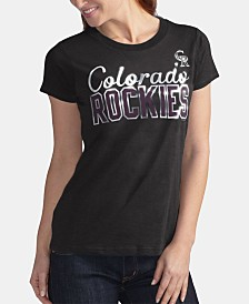 G-III Sports Women's Colorado Rockies Homeplate T-Shirt