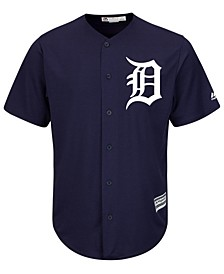 Men's Detroit Tigers Blank Replica Cool Base Jersey