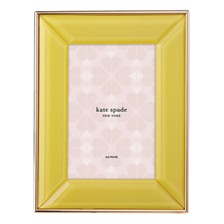"kate spade new york Charles Street 4"" x 6"" Yellow Frame"