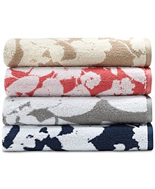 Sanders  Antimicrobial Floral Bath Towel Collection