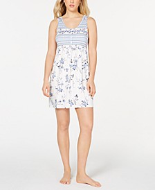 Norrie Printed Chemise Nightgown