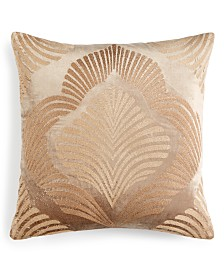 "Home Design Studios 20""x20"" Embroidered Decorative Pillow"