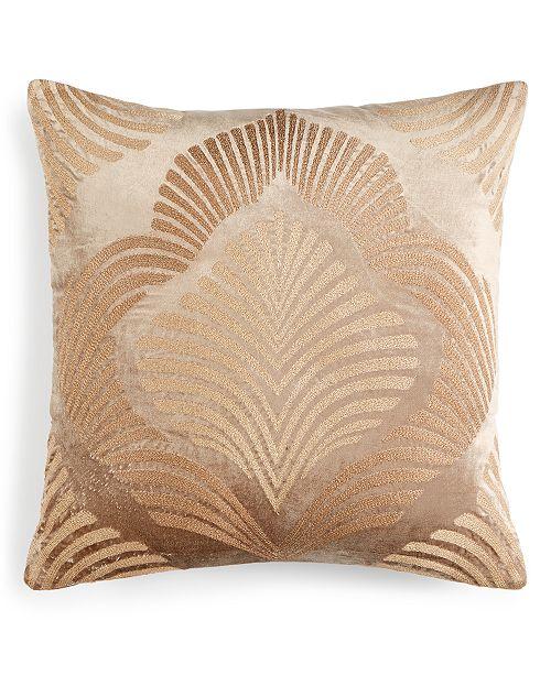 "Home Design Studio  20""x20"" Embroidered Decorative Pillow"