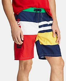 "Polo Ralph Lauren Men's 8-1/2"" CP-93 Swim Trunks"