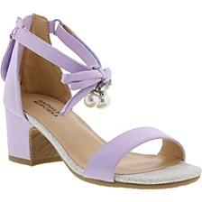Little & Big Girls Pernia Pearl Bow Dress Shoe