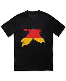 Men's Flag Logo T-Shirt with Chest Pocket