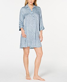 Women's Printed Sleepshirt Nightgown