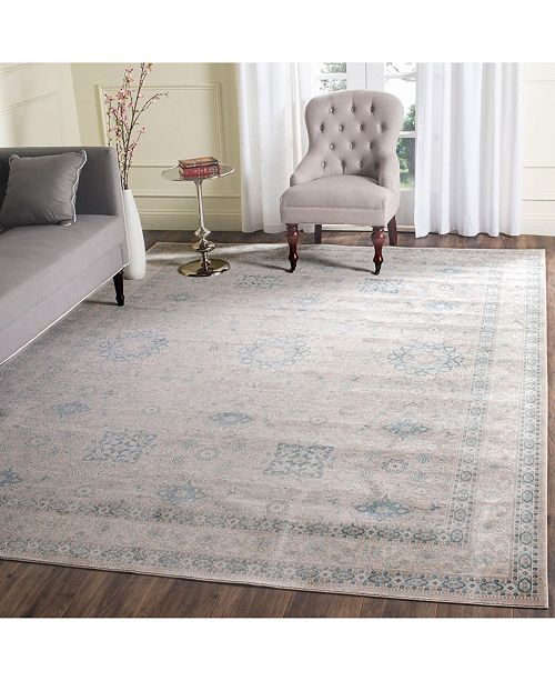 Safavieh Archive Gray and Blue 9' x 12' Area Rug