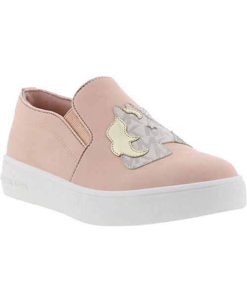 Michael Kors Little & Big Jem Magic Unicorn Slip On Sneaker