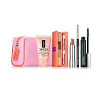Clinique 6 Piece Spring Into Color Eye & Lip Makeup Set