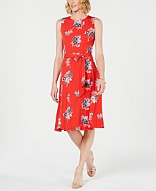 Printed Midi Dress, Created for Macy's
