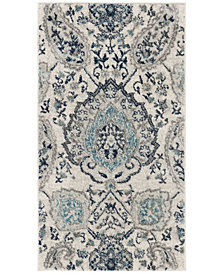 "Safavieh Madison Cream and Light Gray 2'3"" x 4' Area Rug"