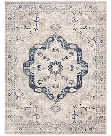 Marseille Navy and Ivory 9' x 12' Area Rug
