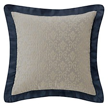 """Everett Teal 16"""" X 16"""" Square Collection Decorative Pillow"""