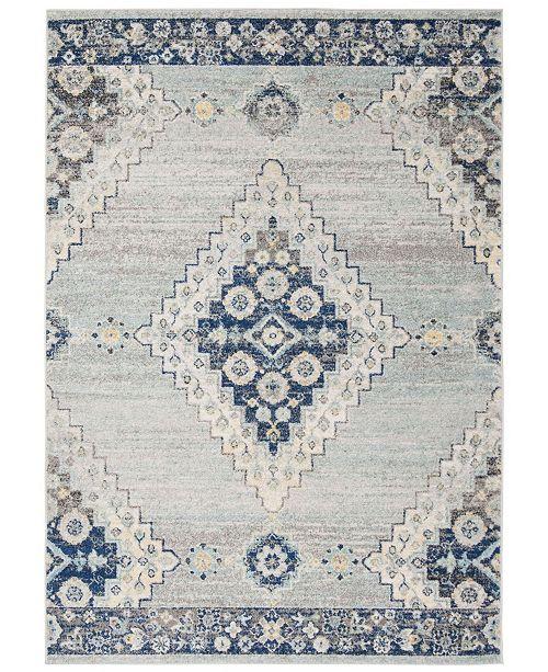 Safavieh Madison Gray and Cream 8' x 10' Area Rug