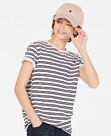 Epic Threads Little Boys Striped Shirt, Created for Macy's