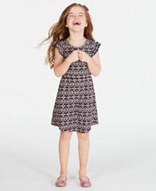 Epic Threads Super Soft Toddler Girls Printed Dress, Created for Macy's