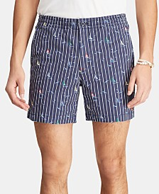 Polo Ralph Lauren Men's Big & Tall Classic-Fit Polo Prepster Shorts