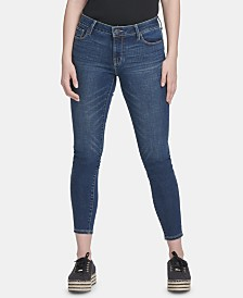 DKNY Skinny Ankle Jeans