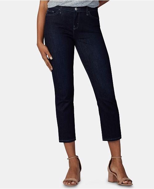 Lee Platinum Petite Cropped Skinny Jeans