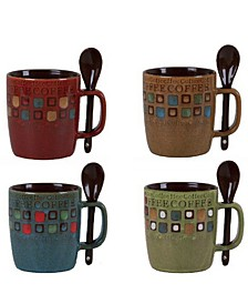 Mr. Coffee Cafe Americano 13 Ounce Mug Set