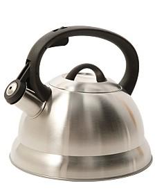 Mr. Coffee Flintshire 1.75 Qt. Stainless Steel Whistling Tea Kettle