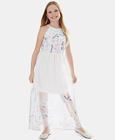 BCX Big Girls Printed Maxi Dress