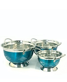 Oster Metaline 3 Pack Asian Colander