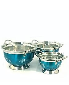 Oster Metaline 3 Pack Asian Colander