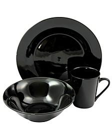 12 Piece Fine Ceramic Dinnerware Set