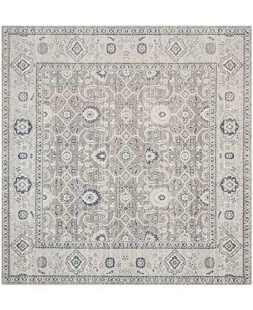 """Safavieh Patina Taupe and Ivory 6'7"""" x 6'7"""" Square Area Rug"""