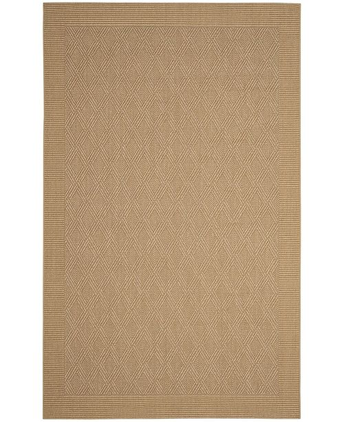 Safavieh Palm Beach Maize 5' x 8' Sisal Weave Area Rug