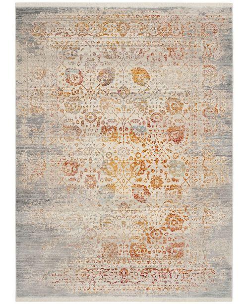 Safavieh Vintage Persian Gray and Multi 4' x 6' Area Rug