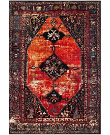Safavieh Vintage Hamadan Orange and Multi 4' x 6' Area Rug