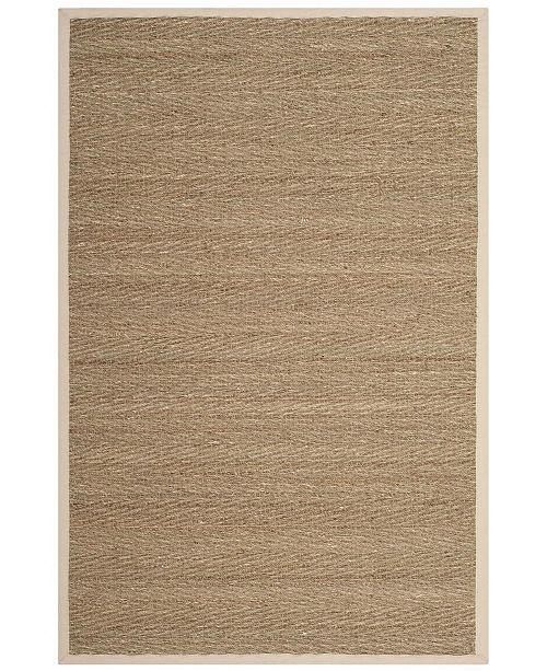Safavieh Natural Fiber Natural and Ivory 4' x 6' Sisal Weave Area Rug
