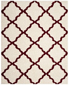 Dallas Ivory and Red 8' x 10' Area Rug