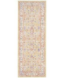 Windsor Gold and Lavender 3' x 12' Area Rug