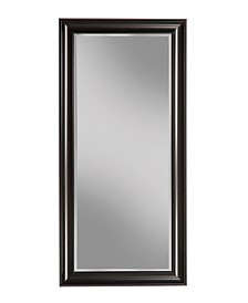 Martin Svensson  Black Full Length Leaner Mirror